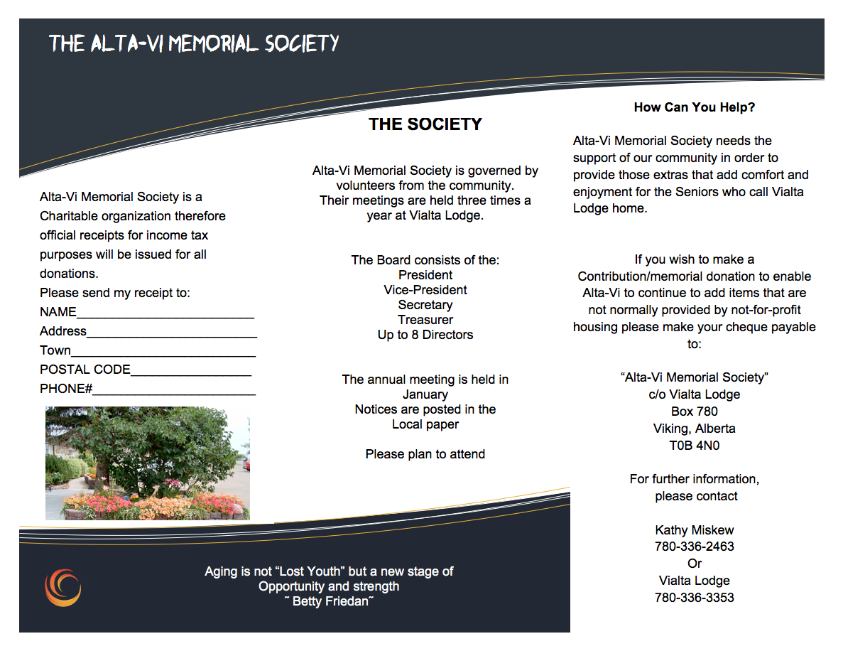 Alta Vi Memorial Society